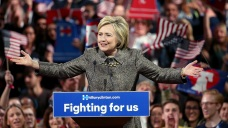 Clinton to Hold Rally Ahead of California Primary Race