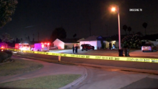 Woman Shot to Death Discovered in Front of Garden Grove Home