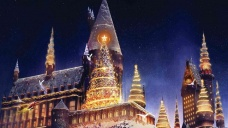 Board Your Broomstick for a Wizarding World Christmas