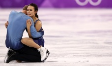 Couple's Olympic Medal Hopes Dashed When Skates Collide