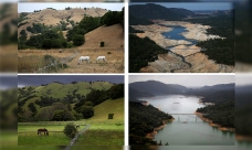 Then and Now: Dramatic Photos of CA's Drought and Recovery