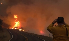 Thomas Fire Becomes Fifth Largest Wildfire in State History