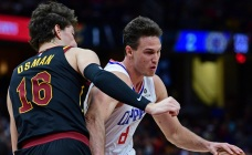 Gallinari Scores 27 as Clippers Edge Cavaliers 110-108