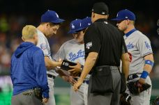 Dodgers Sweep Doubleheader With Nationals