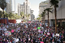 750K Flock to Downtown LA for Women's March Los Angeles