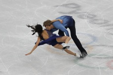 Couple's Medal Hopes Dashed When Skates Collide