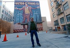 Downtown LA's Anthony Quinn Mural Gets a Makeover