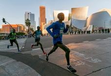 Barno of Kenya, Merachi of Ethiopia Win LA Marathon