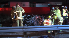 55 Freeway Reopened After 2 Killed in Rollover Crash