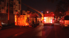 Several Injured in Glendale Apartment Fire