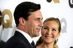 Jon Hamm Had Girlfriend Jennifer Westfeldt's Back While She Made 'Friends With Kids'