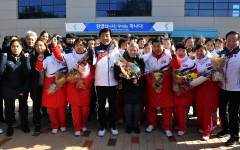 Joint Koreas Hockey Team Ends Historic Olympic Run