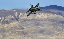 Military Jets Zig, Zag Through California's Star Wars Canyon