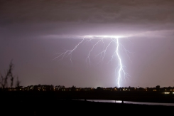 Lightning Gives SoCal a Show During Fall Storm