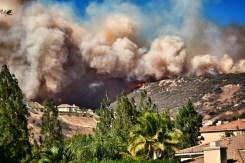 Woolsey Fire Burns in Ventura, Los Angeles Counties