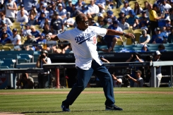 Check Out These Ceremonial First Pitches at Dodger Stadium