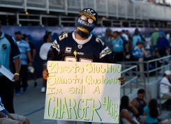 Los Angeles Chargers Fan Photos