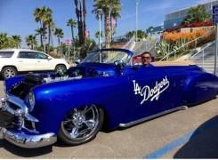 True Blue Dodgers Fans  in Photos