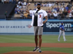 Photos: Ceremonial First Pitches at Dodger Stadium