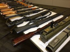 Nearly 800 Guns Turned in at LAPD's Gun Buyback