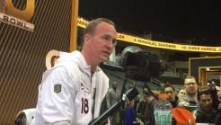 Super Bowl Media Night: Manning Calls HGH Allegations 'Complete Junk'