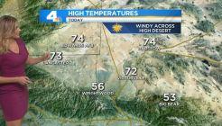 AM Forecast: Below Normal Temperatures