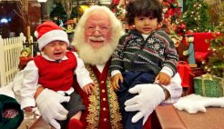 Santa Photo Fail: Send Us Your Failed Santa Moments