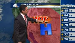 PM Forecast: Triple-Digit Heat and Fire Danger