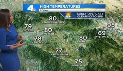 AM Forecast: Sunny Skies, Some Cooling