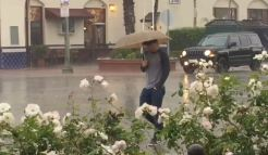 Scattered Showers Drift Into Southern California