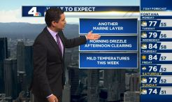 PM Forecast: Marine Layer and Drizzle Chance