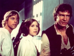 """Star Wars"": George Lucas Tipped Off Mark Hamill and Carrie Fisher About New Trilogy"