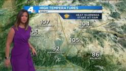 AM Forecast: Near-Record Heat