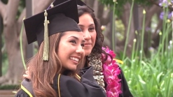 Young Woman, Born to Save Sister, Graduates College
