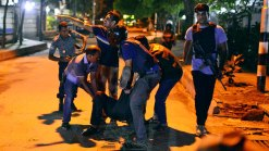Dramatic Images: Militants Take Hostages in Bangladesh