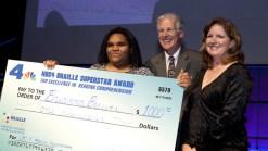 NBC4 LA Supports the 2011 Braille Challenge
