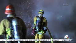 Firefighters Put Out Blaze at High School in Boyle Heights