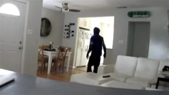 RAW VIDEO: Thieves Break Into Valley Home