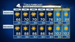 PM Forecast: Stays Cool