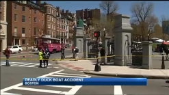 1 Dead, 1 Injured In Boston Duck Boat Crash