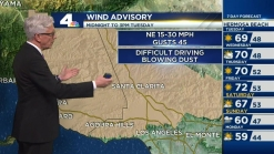 PM Forecast: Santa Anas