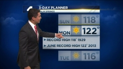 PM Weather: Excessive Heat and Fire Danger