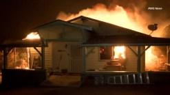 RAW VIDEO: Erskine Wildfire Destruction