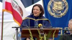 FULL SPEECH: Sandberg's Moving Commencement Remarks