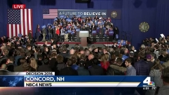 Trump, Sanders Projected Winners in New Hampshire