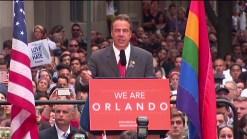 Cuomo at Stonewall Vigil for Orlando: Enough Is Enough