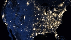 NASA's Dramatic Earth Images at Night