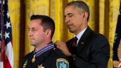 White House Honors Police Officers For Valor