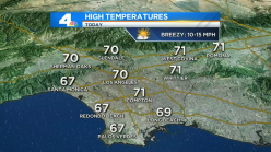 Winds Begin to Pick Up in SoCal