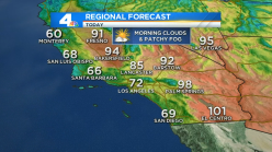 More Marine Layer as Temps Fall